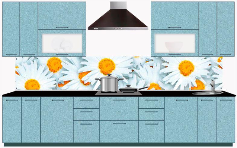 Популярные модели кухонных стеновых панелей из МДФ с фотопечатью