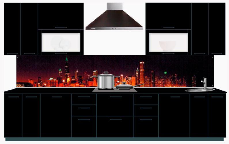 Стеновые панели для кухни с фотопечатью из МДФ