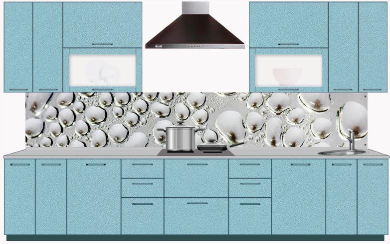 Кухонные фартуки, стеновые панели из МДФ с фотопечатью купить