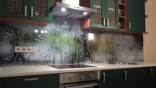 Кухонная панель с фотопечатью из МДФ купить недорого
