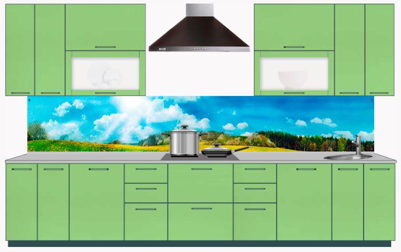 Стеновые панели на кухню из МДФ купить, кухонные фартуки с доставкой